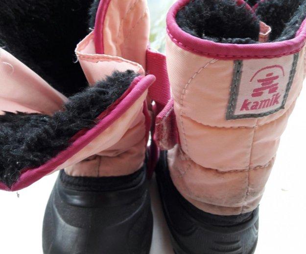Канадские валенки для девочки. Фото 3. Москва.