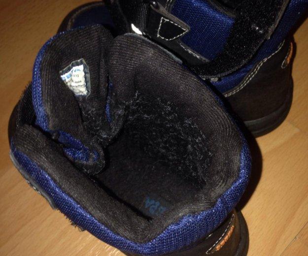 Ботинки 27 размер с флисом. Фото 4. Долгопрудный.