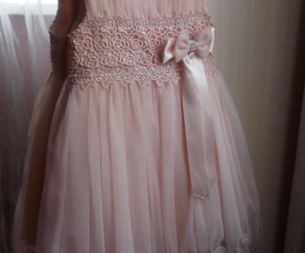 Платье нарядное, на возраст от 1,5 до 2,5 лет. Фото 1.