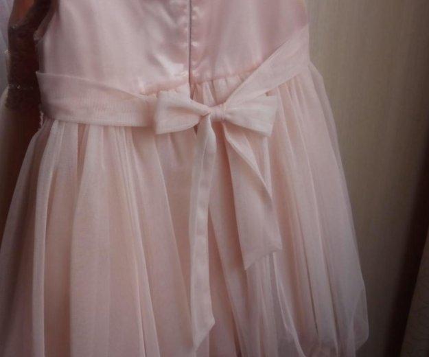 Платье нарядное, на возраст от 1,5 до 2,5 лет. Фото 2.