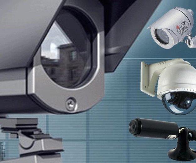 Установка систем безопасности и видеонаблюдения. Фото 1. Астрахань.