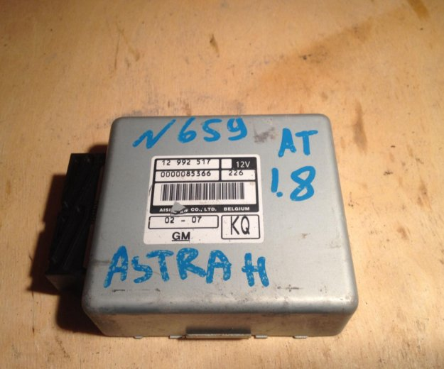 Блок управления акпп опель астра h 12992517. Фото 1. Екатеринбург.