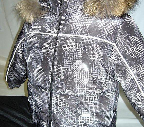 Новый зимний комплект 110 размер. Фото 1. Бор.