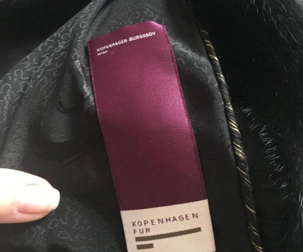 Норковая шуба kopenhagen fur. Фото 1.