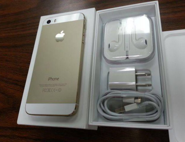 Iphone 5s gold 16 гб  . Фото 1.