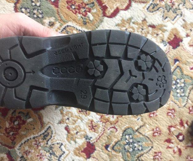Ботинки ecco. Фото 3. Химки.