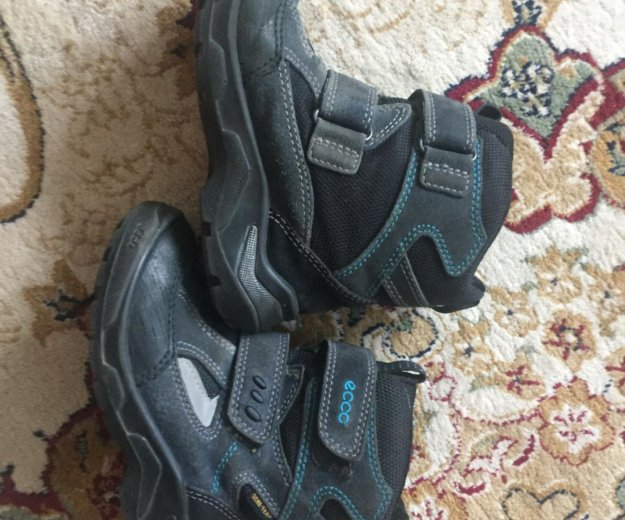 Ботинки ecco. Фото 1. Химки.