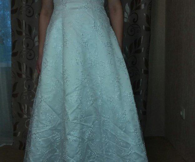 Свадебное платье. Фото 2. Прокопьевск.