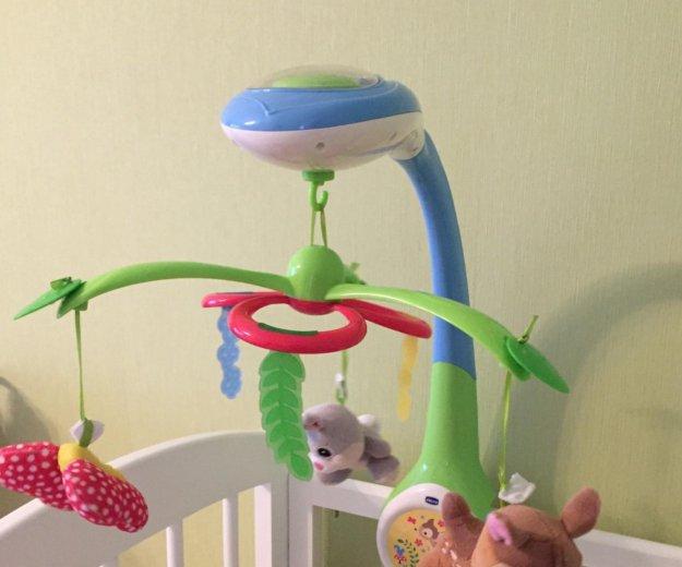 Мобиль проектор chicco бэмби. Фото 1. Котельники.