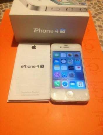 Iphone 4s 16 гб white. Фото 1.