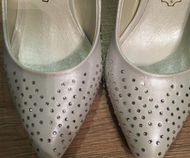 Свадебные туфли, размер 36. Фото 2. Кострома.