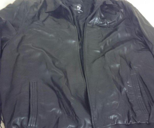 Мужская кожаная куртка,размер 64,. Фото 1. Москва.