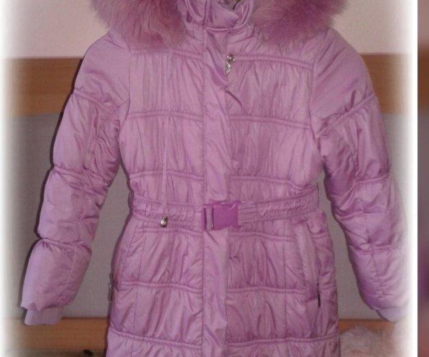 Зимнее пальто для девочки. Фото 1. Чебоксары.