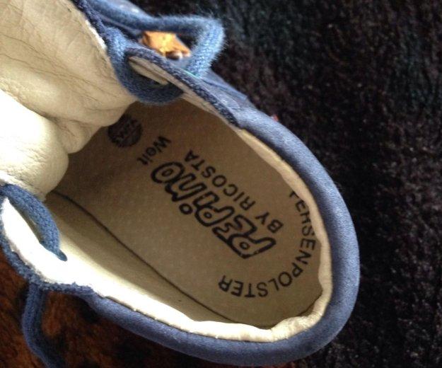 Ботинки,18 размер.материал верха-нат. нубук. Фото 2. Нальчик.