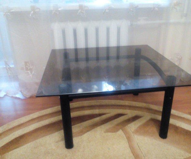 Стеклянный стол. Фото 1. Смоленск.