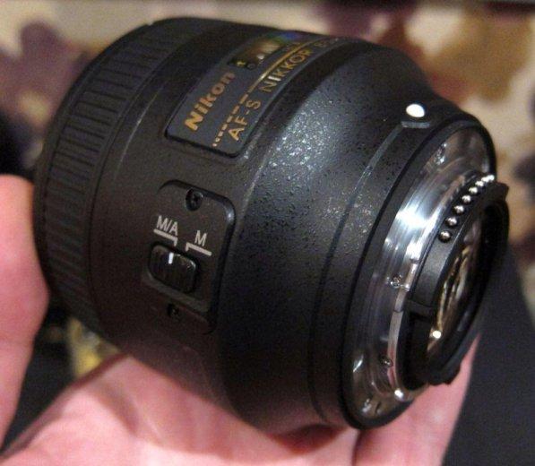 Объектив никон 85mm 1.8 g. Фото 1. Екатеринбург.