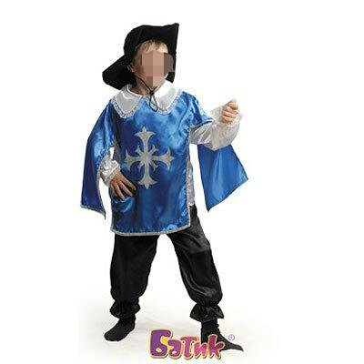 Новогодний костюм для мальчика «мушкетер». Фото 4. Тюмень.