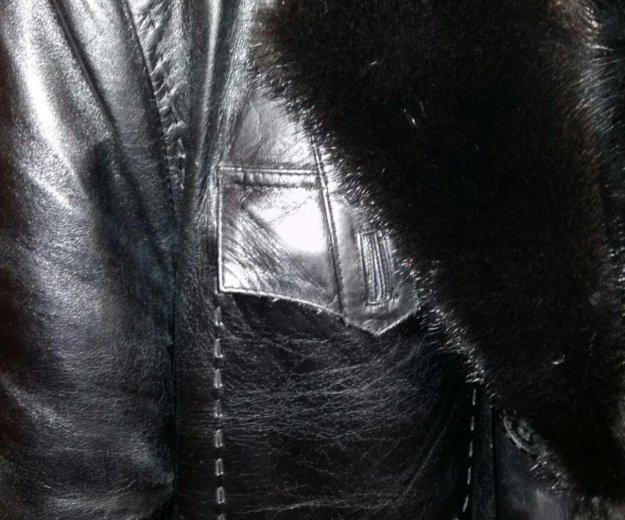 Куртка кожанная мужская зимняя. Фото 1. Красноярск.