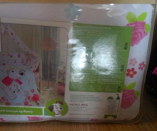 Комплект в кроватку.  для новорожденого. Фото 1.