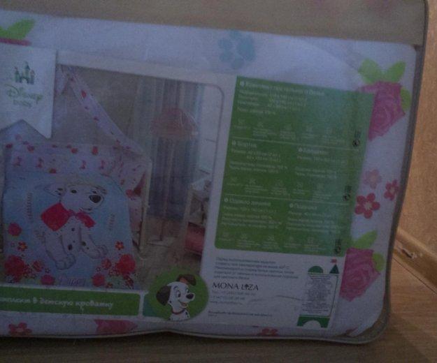 Комплект в кроватку.  для новорожденого. Фото 4.