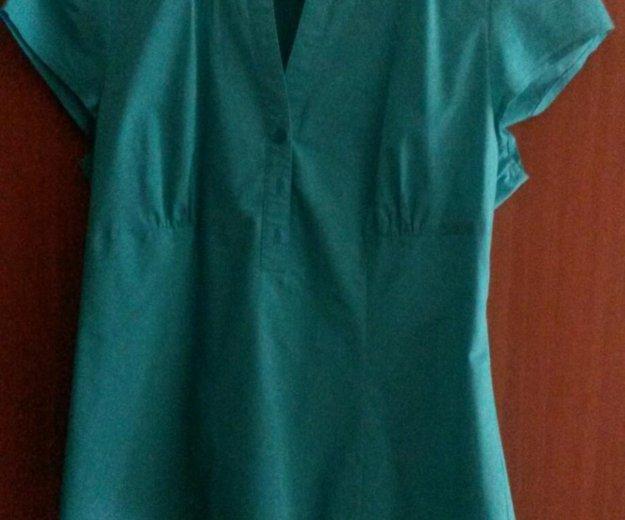 Рубашка(зеленая). Фото 1. Москва.