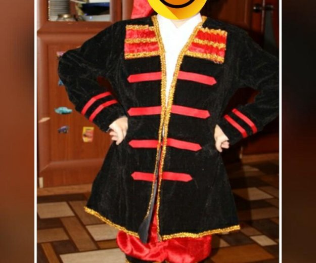 Новогодний костюм казака. Фото 1. Ртищево.