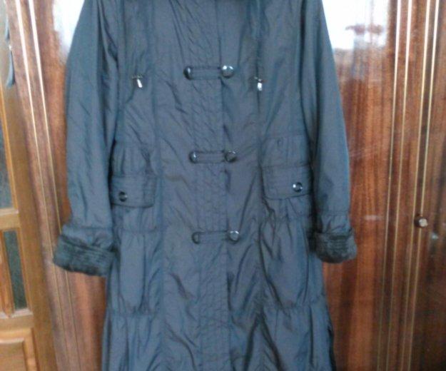 Пальто на меху. р.48-50. Фото 3. Бор.