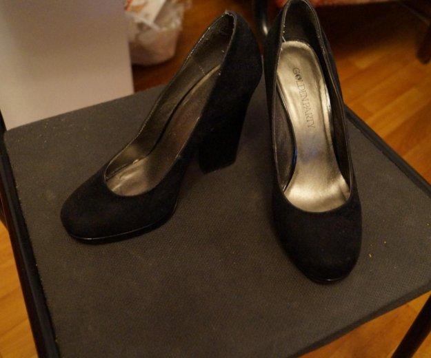 Туфли замшевые. Фото 1. Ярославль.