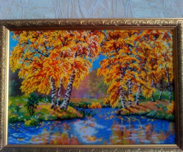 Картина бисером. Фото 1. Волгоград.