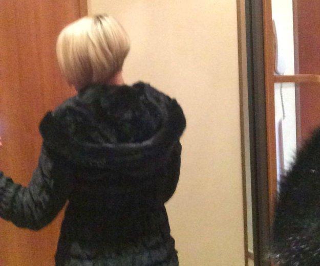 Куртка женская с норкой,сумка gf ferre в подарок. Фото 4.