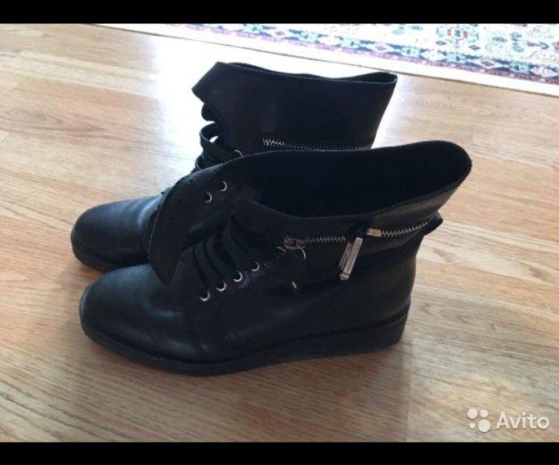 Демисезонные ботинки carlo pasolini. Фото 1. Железнодорожный.
