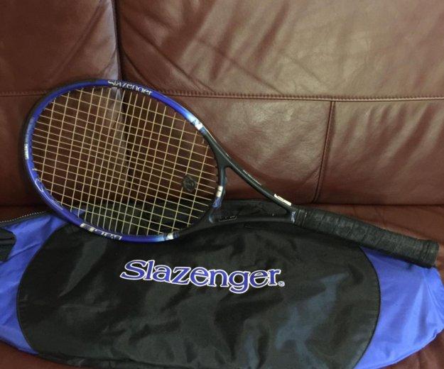 Теннисная ракетка мужская с чехлом. Фото 1. Путевка.