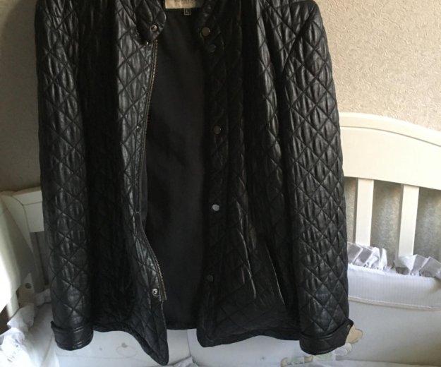Кожаная куртка. Фото 2. Сочи.