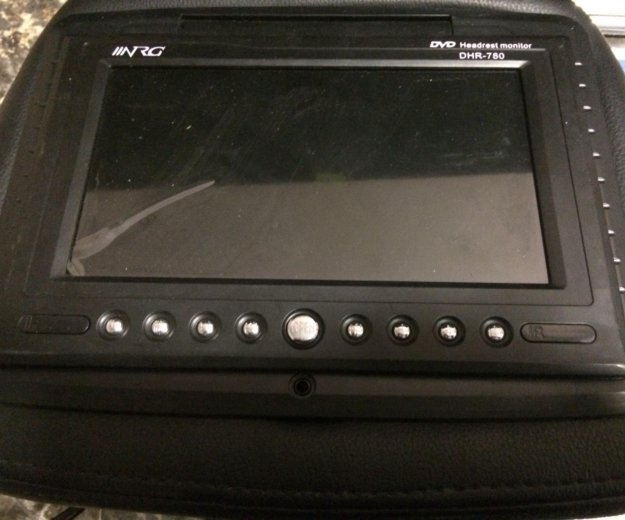 Автомобильный монитор nrg dhr-780. Фото 3. Омск.