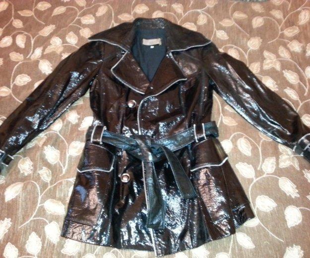 Новая лаковая куртка. Фото 1. Москва.