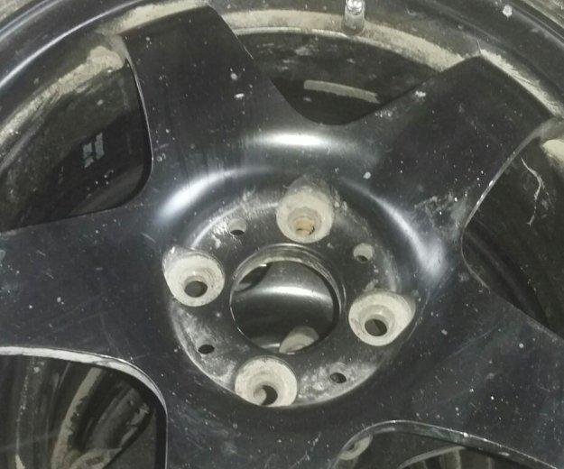 Резина и диски 4×98. Фото 2. Омск.