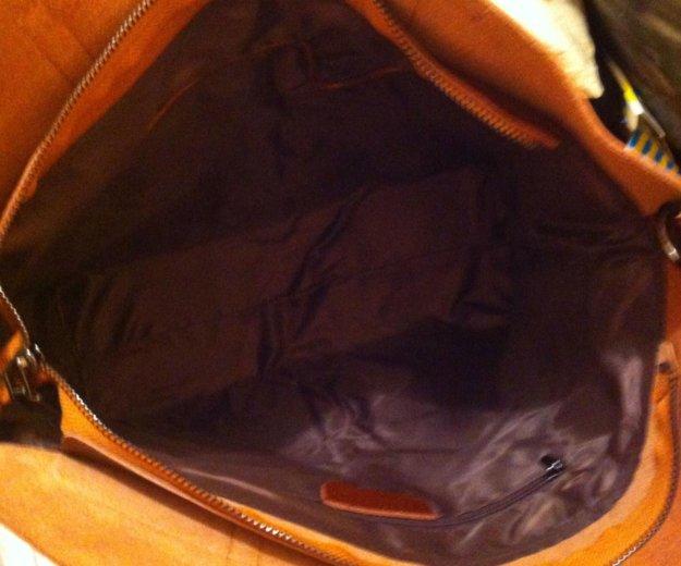 Кожаная сумка. Фото 2. Подольск.