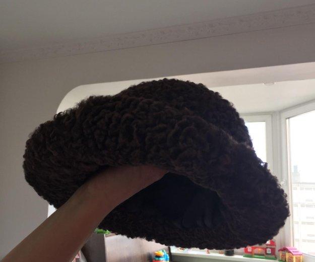 Шляпа каракуль натуральный!!!. Фото 1. Москва.