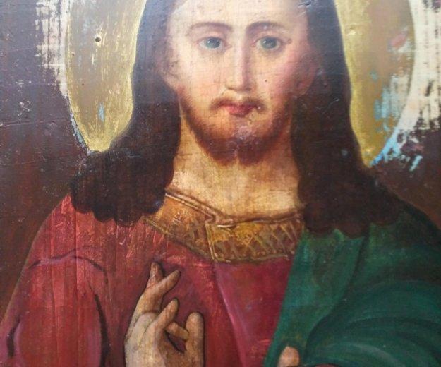 Икона 19 век господь вседержитель . Фото 1. Москва.