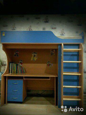 Кровать- чердак. Фото 2. Мурмаши.