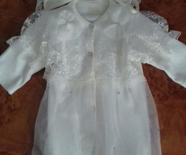 Платье на выписку. Фото 1. Москва.