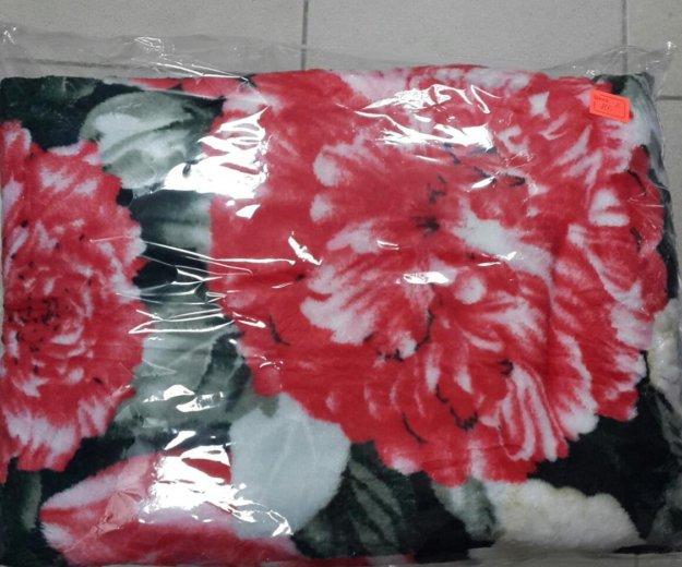 Новый плед цветы на 2х спалку. Фото 1. Краснодар.