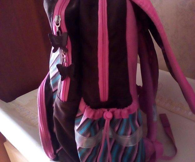 Ранец для девочки(б/у). Фото 1.