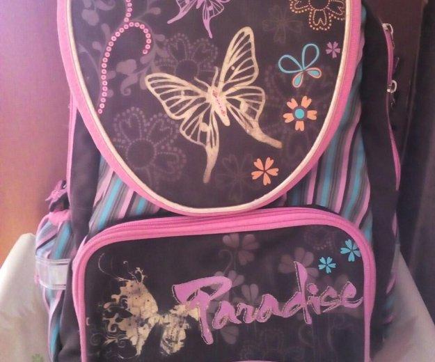 Ранец для девочки(б/у). Фото 4.