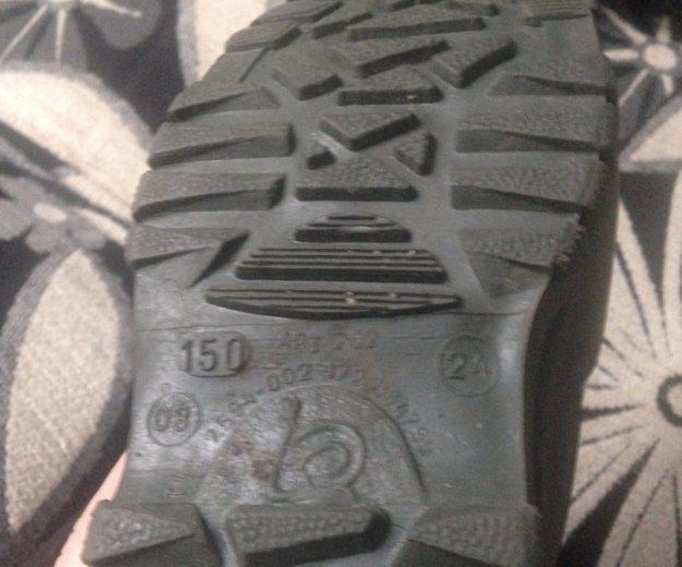 Резиновые сапожки с тёплыми носками. Фото 1. Новосибирск.