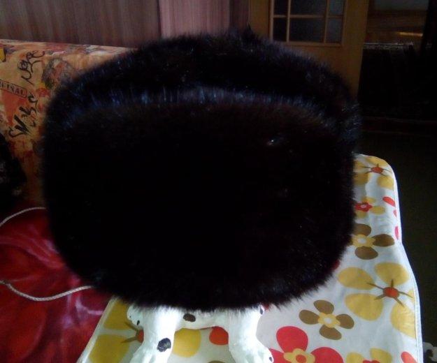 Шапка- ушанка норковая. Фото 1. Барнаул.