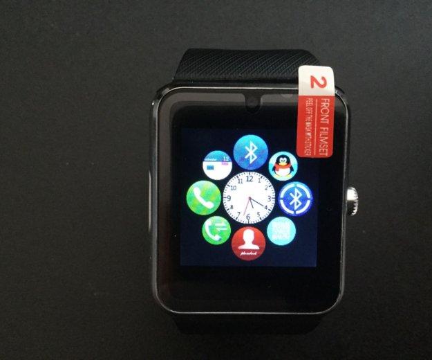 Smart часы gt08 (симкарта+флэшка). Фото 3. Лесной Городок.