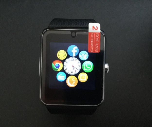 Smart часы gt08 (симкарта+флэшка). Фото 4. Лесной Городок.