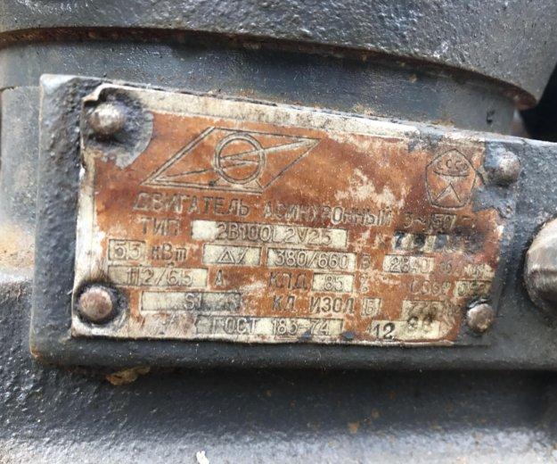 Электродвигатель 5,5квт 2980об/мин 2в100l2 взрывни. Фото 2. Пермь.