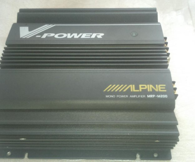 Alpine mrp-m200 усилитель для саба. Фото 4. Москва.
